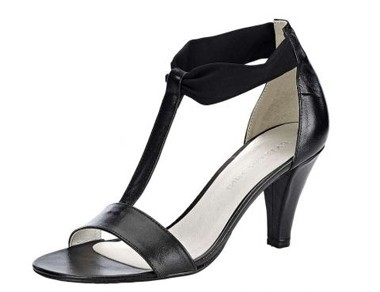 Sandalette, schwarz von PATRIZIA DINI