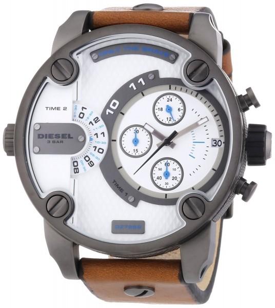 Diesel DZ7269 Herren-Armbanduhr XL Little Daddy Chronograph