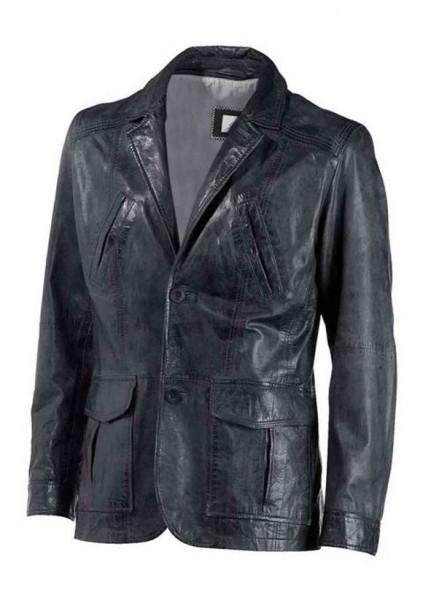 Lammnappa-Jacke, schwarz von Sandro Pozzi