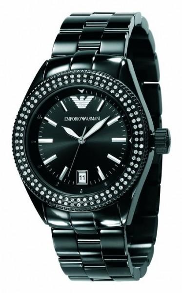 Emporio Armani Uhr AR5763 Damenuhr Edelstahl schwarz