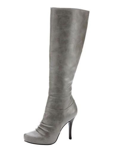 Stiefel, grau von CHILLANY - Heine