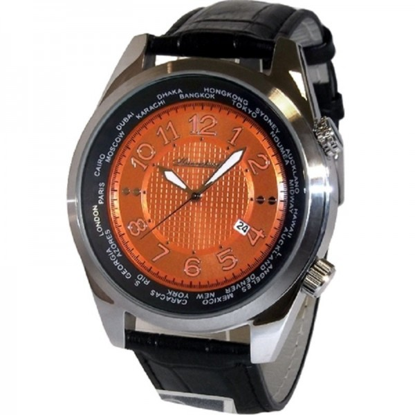 HEINRICHSSOHN Danzig Orange HS1003 Herrenuhr