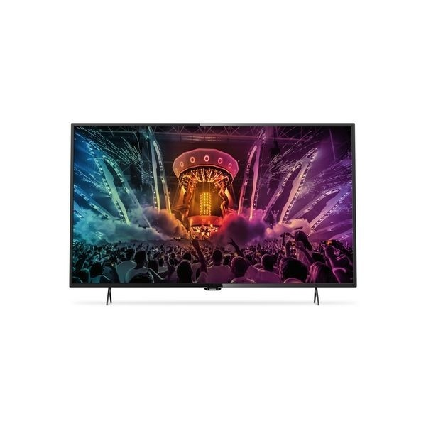 "PHILIPS 6000 SERIES 49PUH6101/88 49"" 4K ULTRA HD SMART TV WI-FI SCHWARZ LED TV"