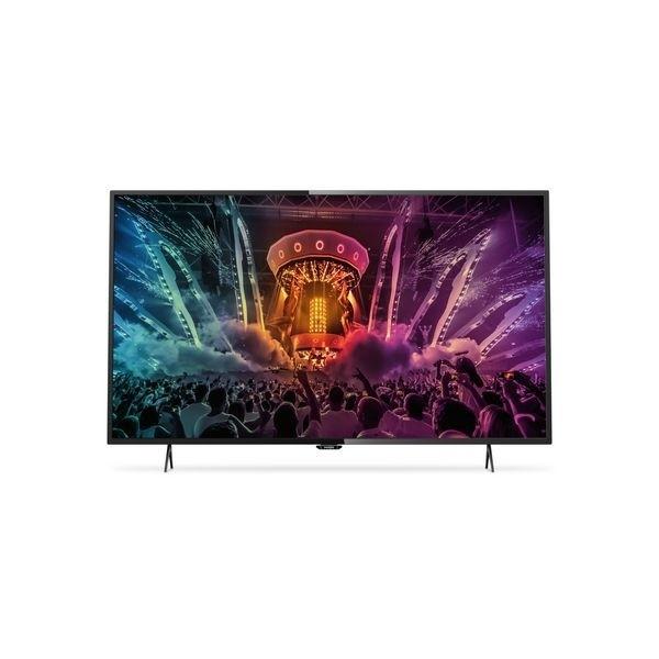 "PHILIPS 6000 SERIES 49PUH6101/88 49"" 4K ULTRA HD SMART TV WI-FI SCHWARZ LED TV"