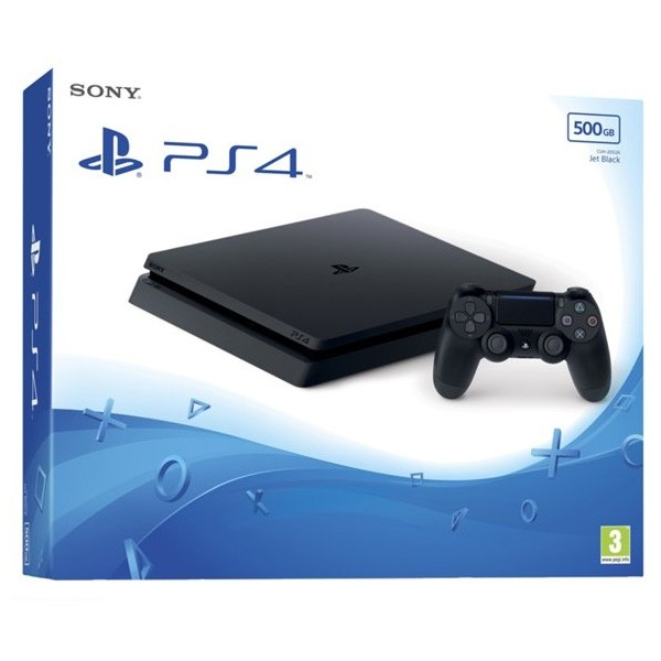 Play Station 4 Sony 88876 500 GB Schwarz