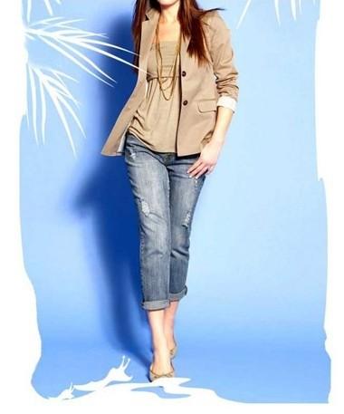 Jeans, blau von APART