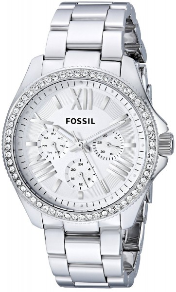 Fossil Cecile AM4481 Damen Armbanduhr Retro Traveler