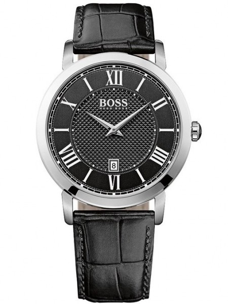 Hugo Boss Black/Schwarz Herrenuhr Classic Gentleman 1513137