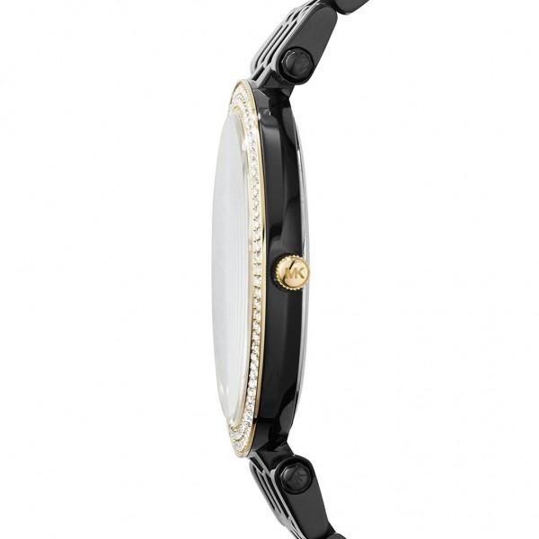 Michael Kors Damenuhr Farbe schwarz & gold MK3322