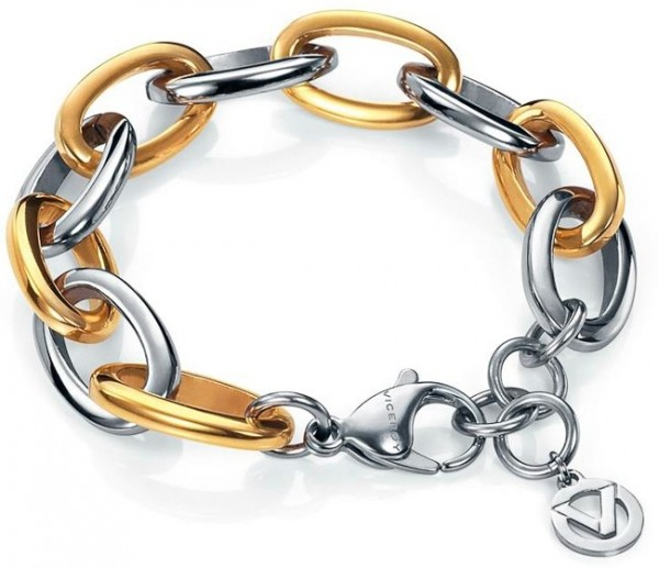 VICEROY Damen-Armband STEEL AND Farbe Gold SRA FASHION 6263P09019