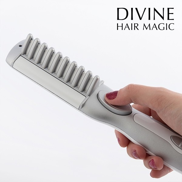 DIVINE HAIR MAGIC ELEKTRISCHER HAARGLÄTTER
