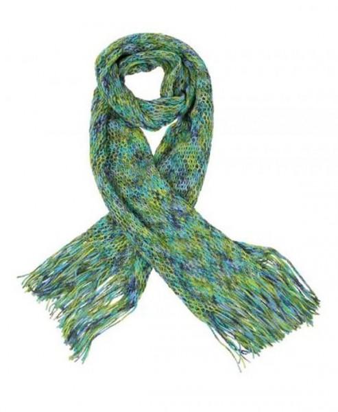 Schal, grün-blau von FrankliŽs