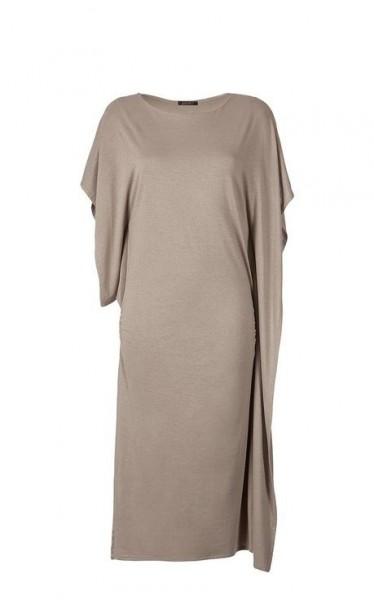 Asymmetrisches Kleid, taupe von APART