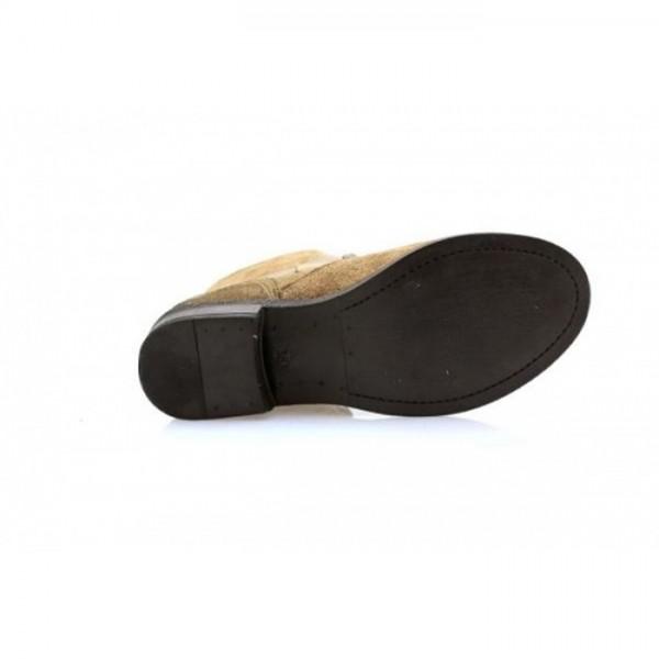 Nice Feet - Stiefelette - S1305003 Taupe Nieten