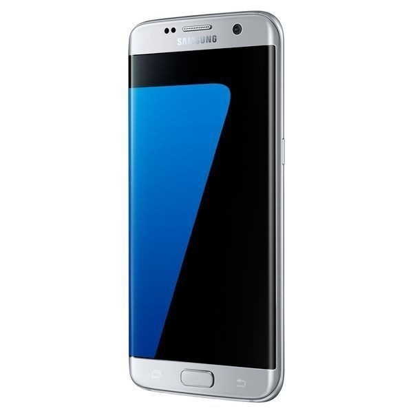 "Handy Samsung SM G935F S7 edge Galaxy 5.5"" 4G 32GB Octa Core Silberfarben"