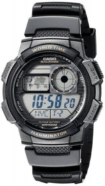 Casio Collection AE-1000W-1AVEF Herren Chronograph