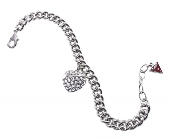 Guess Damen Armband UBB70205 Silberfarben