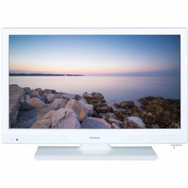 """Fernseher TELEFUNKEN 20DTH401W 20"""" HD Ready LED USB HDMI Weiß"""