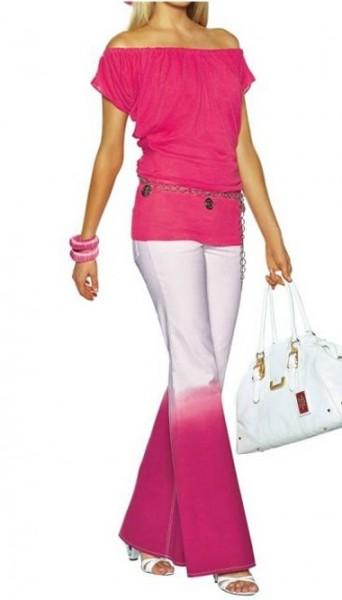 Jeans pink-puder von APART