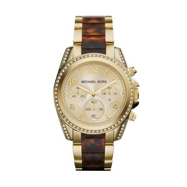 Michael Kors MK6094 Damen Armbanduhr Chronograph