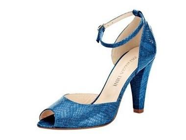 Sandalette, blau von PATRIZIA DINI
