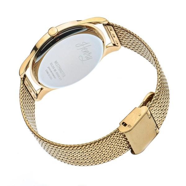 Henry London Unisex Armbanduhr Westminster HL39-M-0008