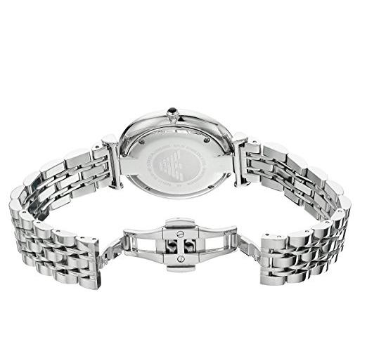 EMPORIO ARMANI AR1819 Classic Herrenuhr Farbe Silber
