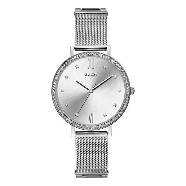Guess Damenuhr W1154L1 Farbe Silber