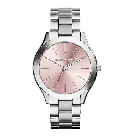 Michael Kors Damen Armbanduhr MK3380 Farbe Rosa & Silber