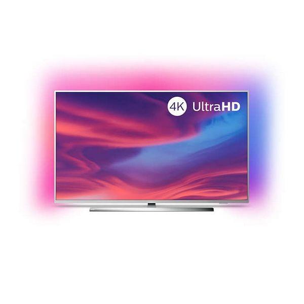 "Smart TV Philips 50PUS7354 50"" 4K Ultra HD LED WiFi Ambilight Silberfarben"
