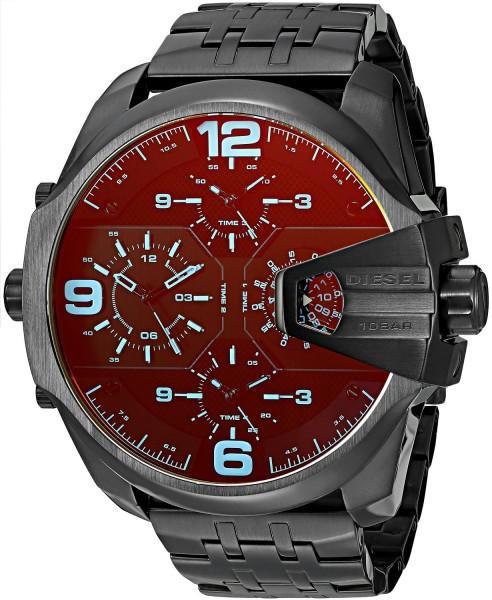 Diesel Herren Armbanduhr Lila DZ7373