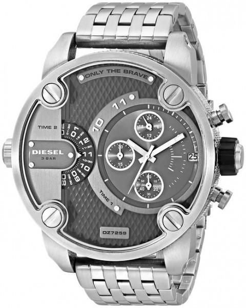 Diesel Herren-Armbanduhr SBA Baby Daddy Chronograph Quarz DZ7259