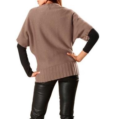 Pullover, taupe von Rick Cardona