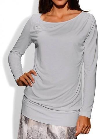 Shirt, silbergrau von PATRIZIA DINI