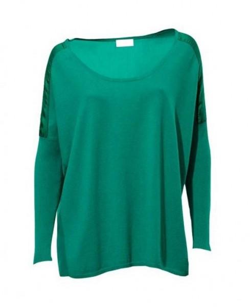 Pullover, smaragd von PATRIZIA DINI