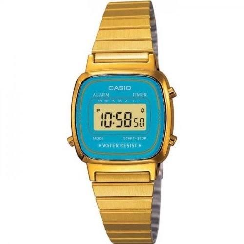 Casio Collection Damen-Armbanduhr Digital Uhr LA670WGA-2DF