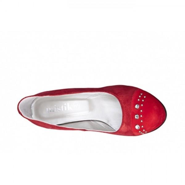 Mistika - Damen High Heels - Damenschuhe - Pumps - Rot