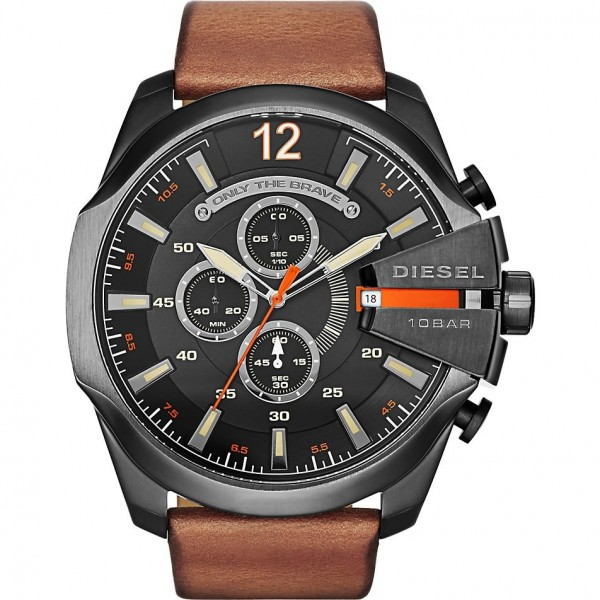 Diesel Herren Armbanduhr Mega Chief DZ4343