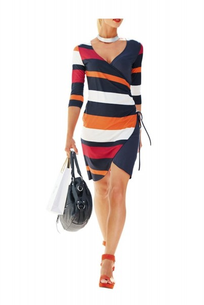 Kleid, bunt von Rick Cardona