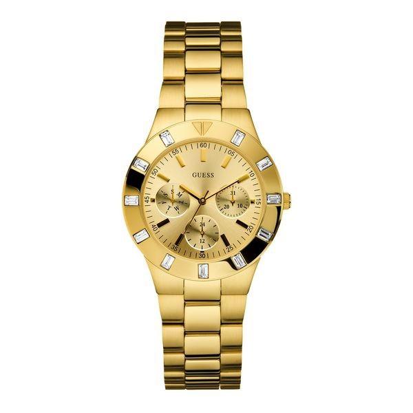 Guess W13576L1 Damenuhr Farbe gold