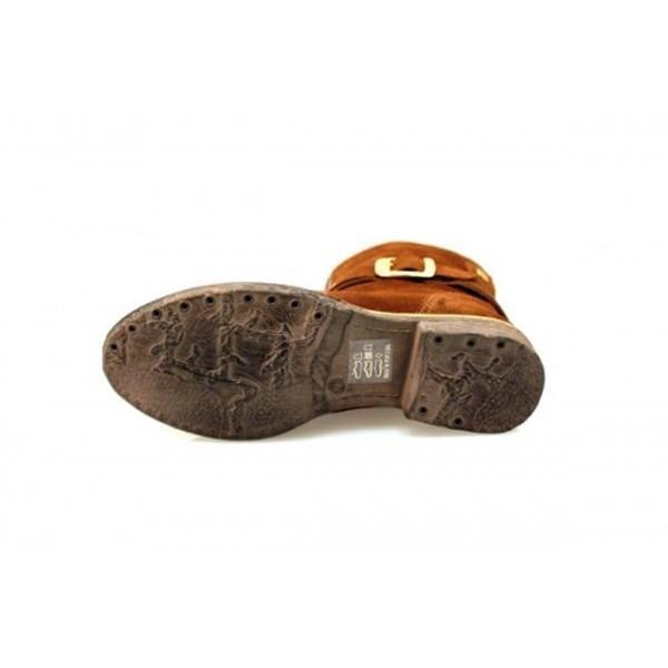 Nice Feet - Schnürstiefelette - NF1404-008 Cognac