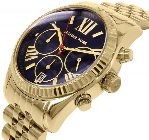 Micheal Kors Damen Armbanduhr Chronograph MK6206