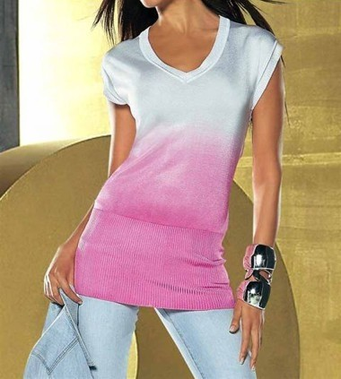 Pullover weiß-pink von APART