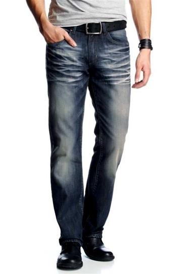Jeans, blau-used von Bruno Banani
