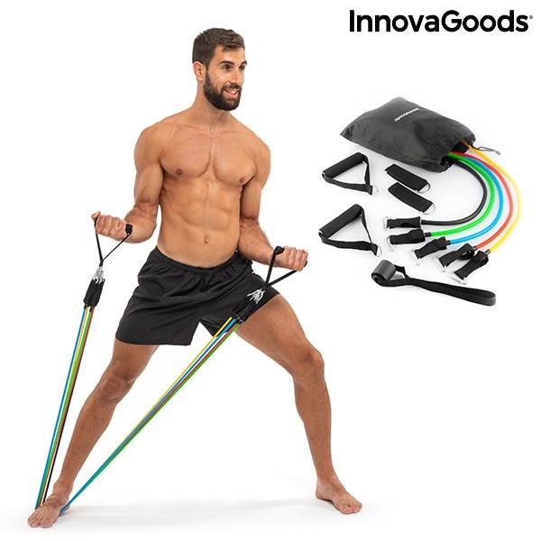 Fitnessbänder Sport-Fitnessband mit Accessoires und Übungsleitfaden Rebainer