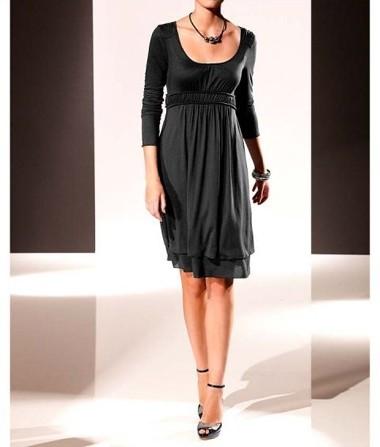 Kleid, schwarz von PATRIZIA DINI