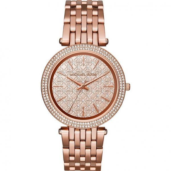Michael Kors Damen Armbanduhr MK3399 Farbe Rosègold