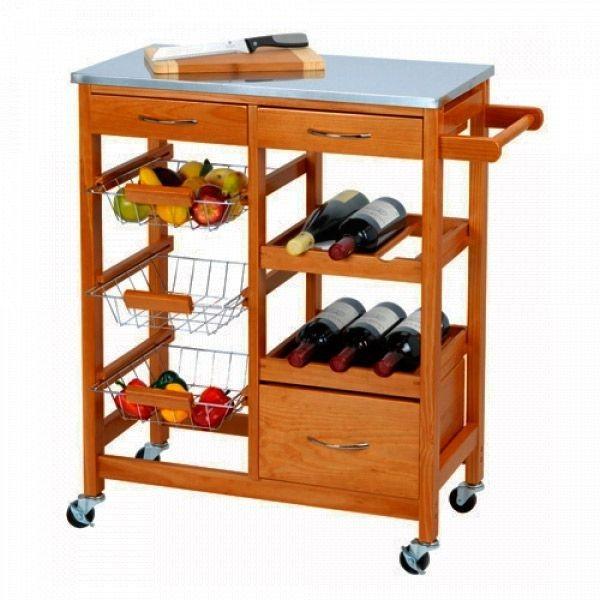 Küchenwagen aus Holz