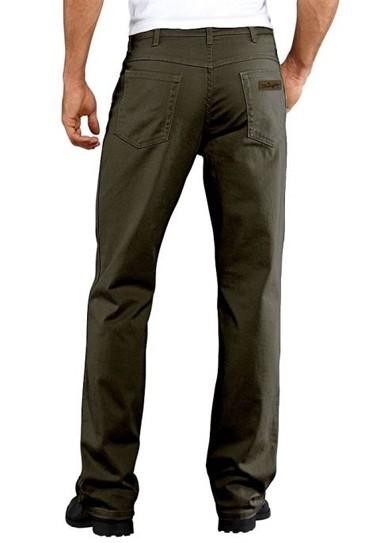 Jeans, khakigrau von Wrangler