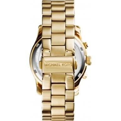 Michael Kors Runway MK6161 Damen-Armbanduhr Farbe Rosa
